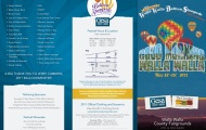 Gesa Walla Walla Balloon Stampede Brochure