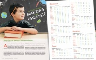 """Making the Grade"" Article Layout"