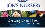 Job's Nursery Advertisment